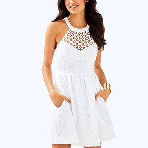 Lilly Pulitzer Kinley Dress in resort white size 4